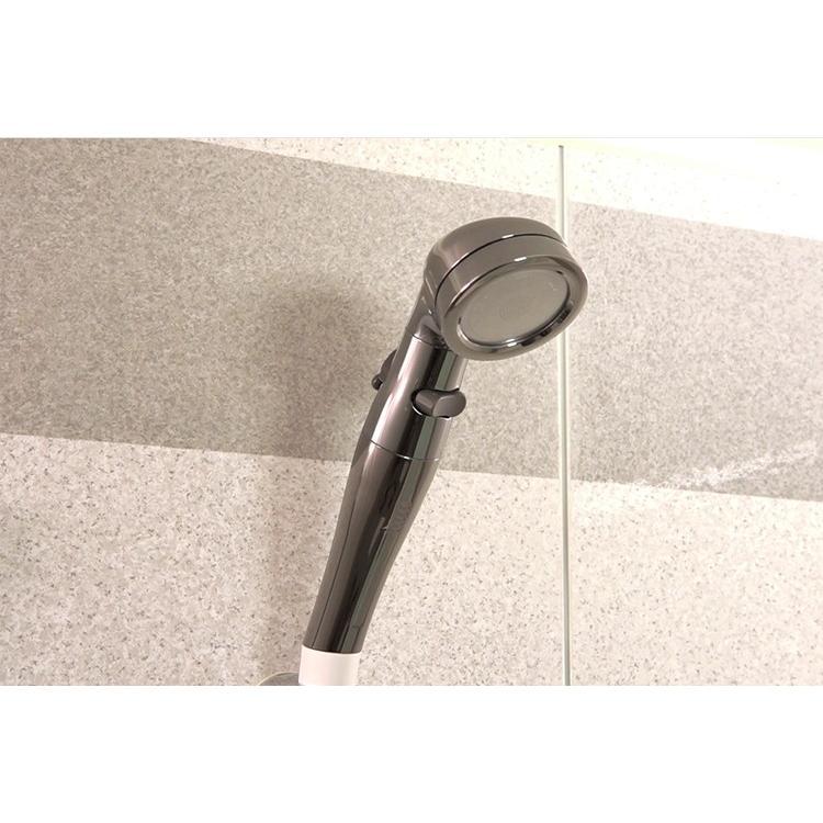 シャワーヘッド 節水 最大70% アラミック 節水シャワープロ・プレミアムST-X3B 水圧強い 日本製 止水 手元止水|sessuimura|03