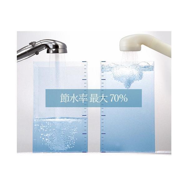 シャワーヘッド 節水 最大70% アラミック 節水シャワープロ・プレミアムST-X3B 水圧強い 日本製 止水 手元止水|sessuimura|09