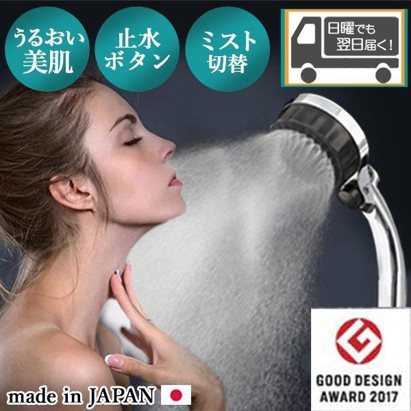 2000円OFFクーポンあり 割り引き シャワーヘッド ナノバブル シャワー ミストシャワー 格安SALEスタート マイクロバブル SH216-2T ミストップリッチシャワー