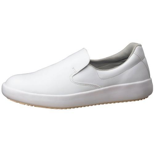厨房シューズ 厨房用品 / 超耐滑作業靴NHS-700 白 25.5cm