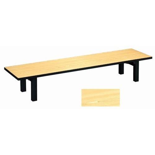 座卓 メラミン 檜(折足) [150 x 60 x 32.5cm] (7-762-4) 料亭 旅館 和食器 飲食店 業務用
