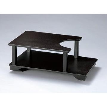 灰皿 ポットワゴンうるみ石目 [60 x 37 x 23cm] 木製品 (7-908-39) 料亭 旅館 和食器 飲食店 業務用