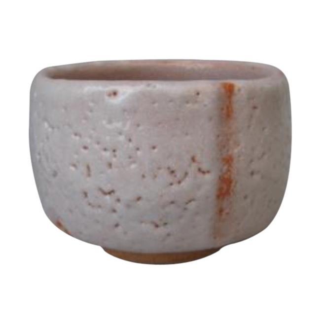 紅志野 抹茶碗