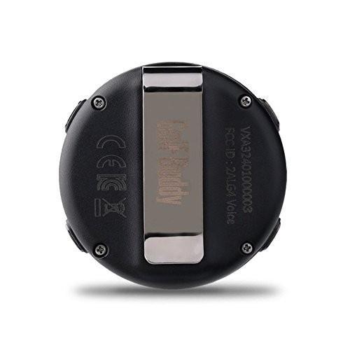 GolfBuddy ?VoiceX使いやすいスマートトーキングゴルフGPS、 Sサイズ ブラック