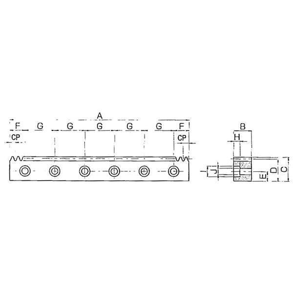 KHK 小原歯車工業 SRCPFD10-1000 SRCPFD型