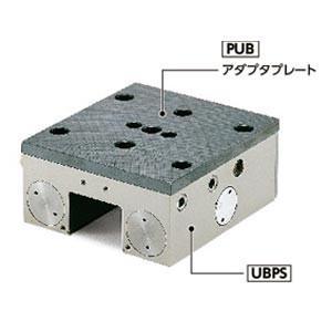 鍋屋バイテック リニアクランパ・ズィー PUB-25-5-5 PUBシリーズ NBK アダプタプレート