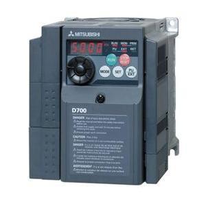 (在庫あり) 三菱電機 インバータ FR-D710W-0.75K D700シリーズ 単相100V 0.75kW (三相モーター制御用) インバーター