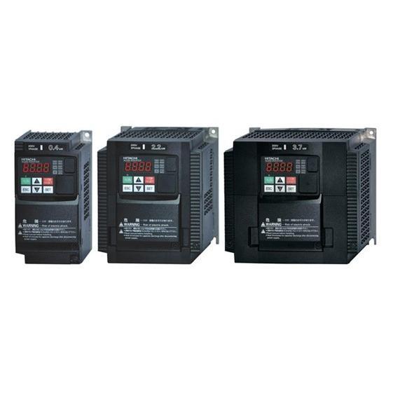 (在庫あり)日立 インバータ WJ200-022LF (三相モーター制御用) WJシリーズ 三相200V 2.2kW インバーター