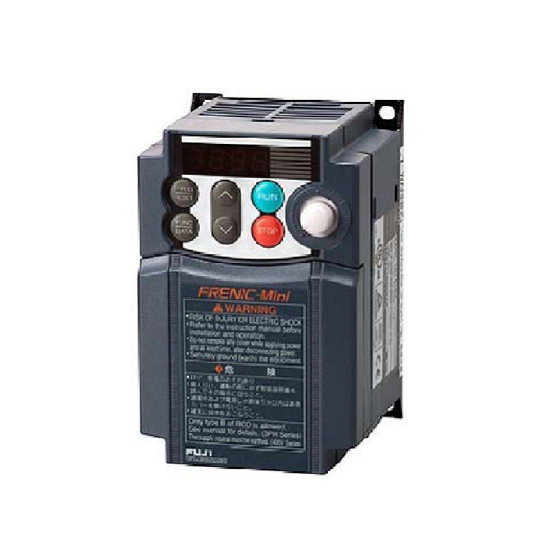 富士電機 インバータ FRN0.4C2S-6J (三相モーター制御用) Miniシリーズ 単相 100V 0.4kW 省エネインバーター