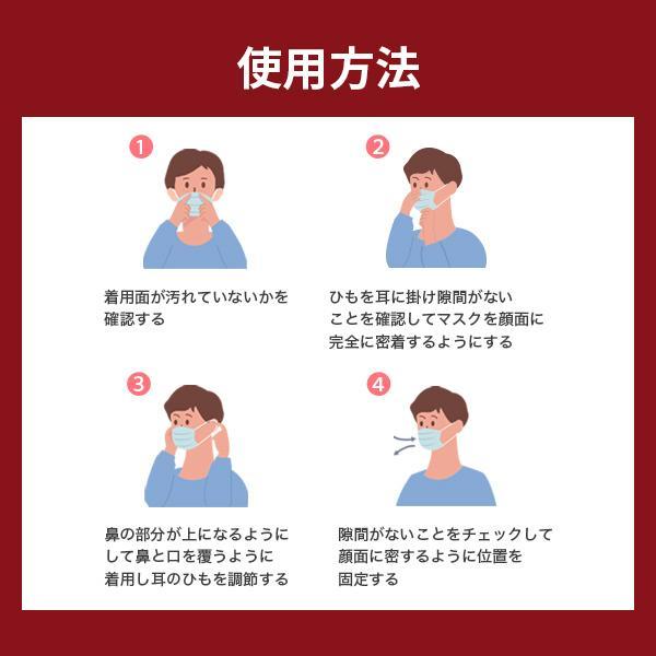 【テレビで話題沸騰中!】正規品 トライKF94マスク 5枚 不織布マスク 4層構造 個包装 口紅がつきにくい 呼吸がラク 花粉対策 韓国マスク 高機能マスク KF94|seulege|14