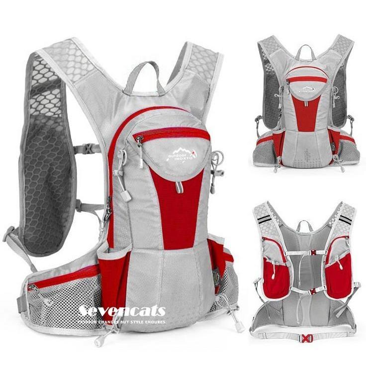 ランニングバック サイクリングバック ハイドレーション サイクルバッグ ジョギング 軽量 ユニセックス バッグ リュック アウトドア 送料無料|sevencats|11