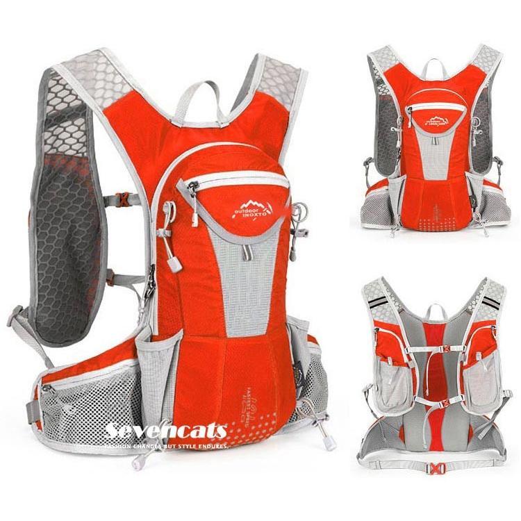 ランニングバック サイクリングバック ハイドレーション サイクルバッグ ジョギング 軽量 ユニセックス バッグ リュック アウトドア 送料無料|sevencats|12