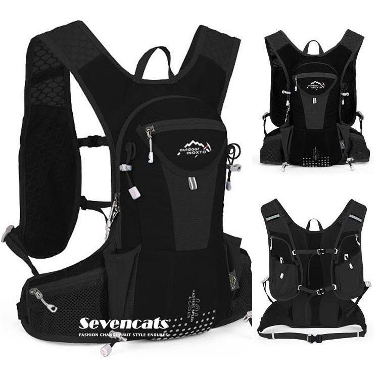 ランニングバック サイクリングバック ハイドレーション サイクルバッグ ジョギング 軽量 ユニセックス バッグ リュック アウトドア 送料無料|sevencats|14