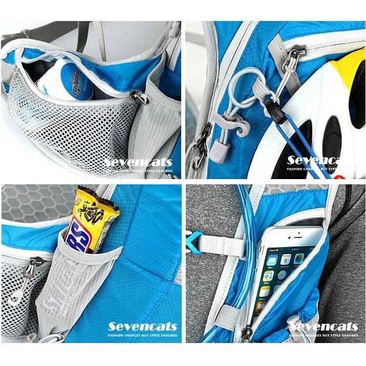 ランニングバック サイクリングバック ハイドレーション サイクルバッグ ジョギング 軽量 ユニセックス バッグ リュック アウトドア 送料無料|sevencats|19