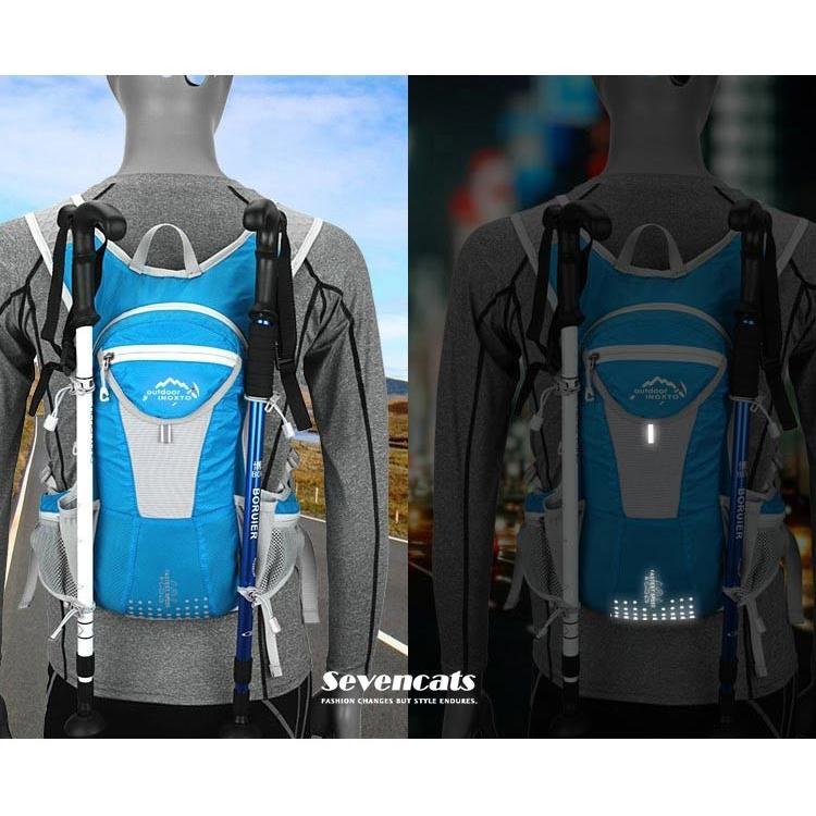 ランニングバック サイクリングバック ハイドレーション サイクルバッグ ジョギング 軽量 ユニセックス バッグ リュック アウトドア 送料無料|sevencats|20