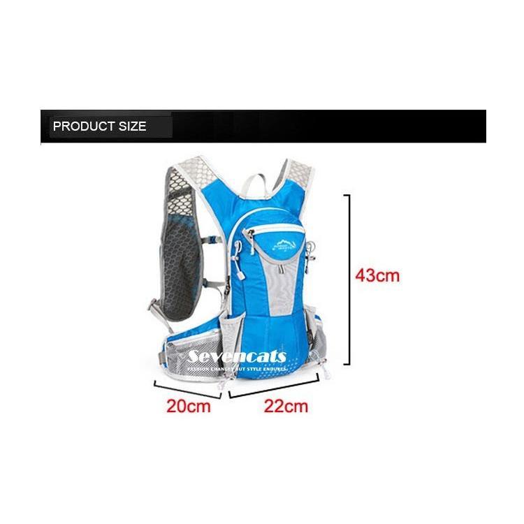 ランニングバック サイクリングバック ハイドレーション サイクルバッグ ジョギング 軽量 ユニセックス バッグ リュック アウトドア 送料無料|sevencats|21