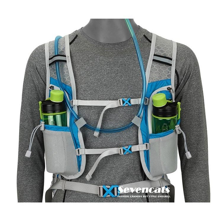 ランニングバック サイクリングバック ハイドレーション サイクルバッグ ジョギング 軽量 ユニセックス バッグ リュック アウトドア 送料無料|sevencats|05