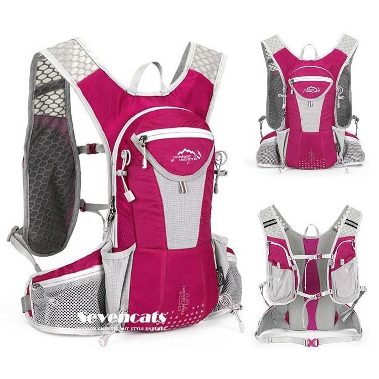 ランニングバック サイクリングバック ハイドレーション サイクルバッグ ジョギング 軽量 ユニセックス バッグ リュック アウトドア 送料無料|sevencats|07