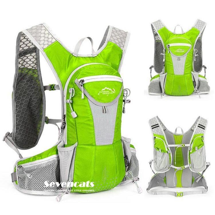 ランニングバック サイクリングバック ハイドレーション サイクルバッグ ジョギング 軽量 ユニセックス バッグ リュック アウトドア 送料無料|sevencats|08