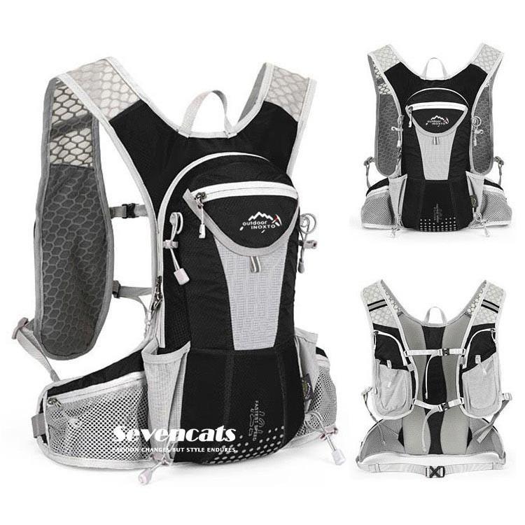 ランニングバック サイクリングバック ハイドレーション サイクルバッグ ジョギング 軽量 ユニセックス バッグ リュック アウトドア 送料無料|sevencats|09