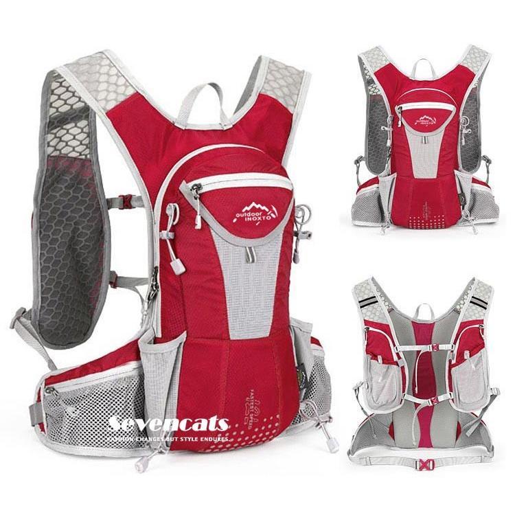 ランニングバック サイクリングバック ハイドレーション サイクルバッグ ジョギング 軽量 ユニセックス バッグ リュック アウトドア 送料無料|sevencats|10