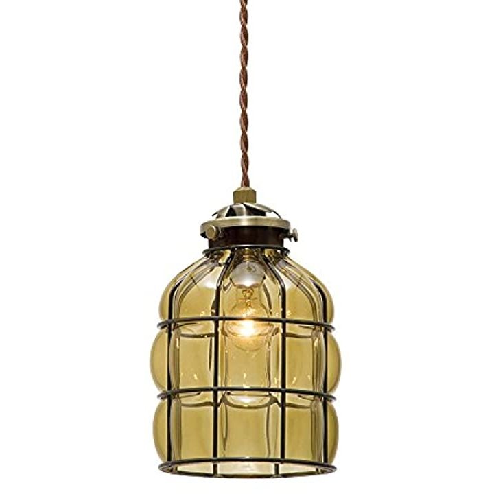 ペンダントライト ペンダントライト ルヴレ B アンバー LED電球付き[LT-1714AM](電球色)