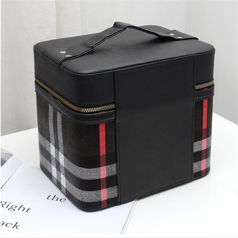 4color!メイクボックス コスメボックス 鏡付き 雑貨 小物入れ 持ち運び可 ネイル プロ 美容 大容量 アクセサリー 収納 化粧品 ジュエリーボックス sevenseas77 07