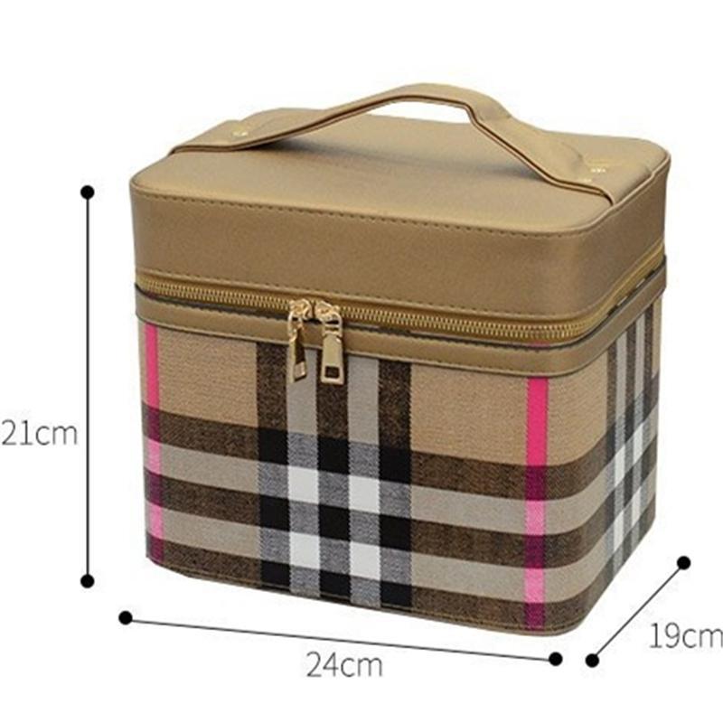 4color!メイクボックス コスメボックス 鏡付き 雑貨 小物入れ 持ち運び可 ネイル プロ 美容 大容量 アクセサリー 収納 化粧品 ジュエリーボックス sevenseas77 03