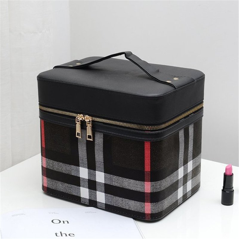 4color!メイクボックス コスメボックス 鏡付き 雑貨 小物入れ 持ち運び可 ネイル プロ 美容 大容量 アクセサリー 収納 化粧品 ジュエリーボックス sevenseas77 06