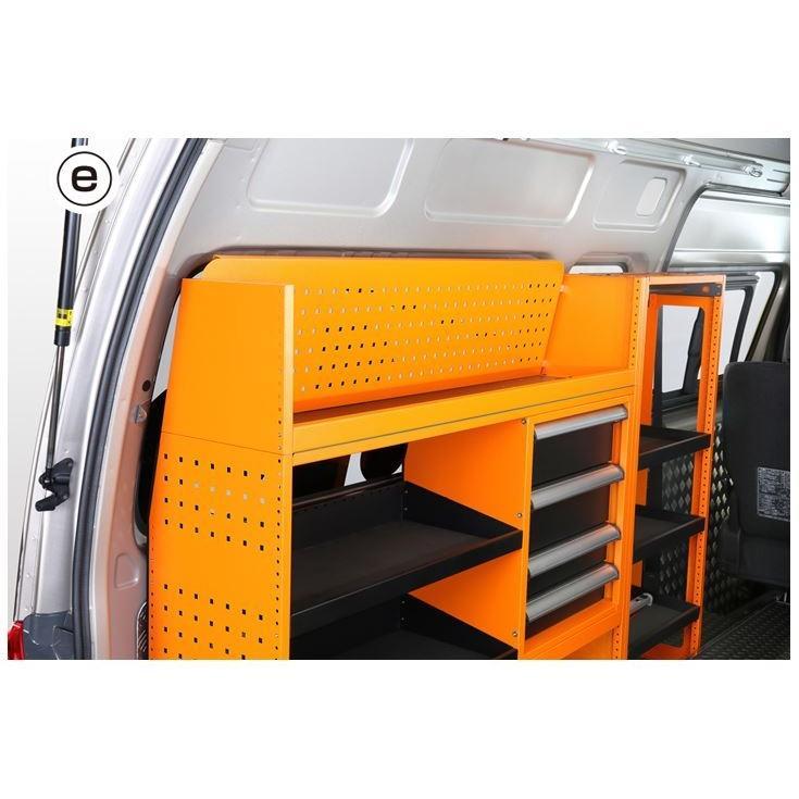 ユーアイビークル(UI-Vehicle) マルチシステムラックE 200系ハイエース専用設計