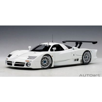 オートアート 1/18 日産 R390 GT1 1998 ホワイト