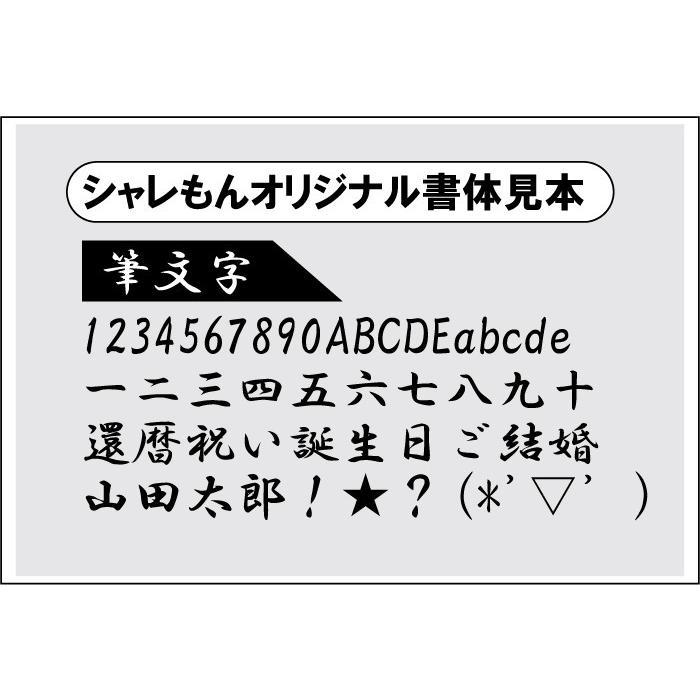 還暦祝い ( ボクサーパンツ ヒップ に 名入れ 金還暦 ) 男性 女性 プレゼント/A6B/(HNY) シャレもん shalemon 03
