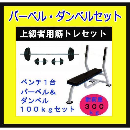 人気を誇る 「ベンチプレス セット セット 100kg)」ShapeShop ベンチプレス+100kgセット(28mmラバープレート)(上級者用筋トレセット)YY100+DF18, 苅田町:a50a5ac6 --- airmodconsu.dominiotemporario.com