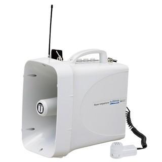 (トーエイライト 拡声器) トーエイライト ワイヤレスメガホンTWB300 B-3943