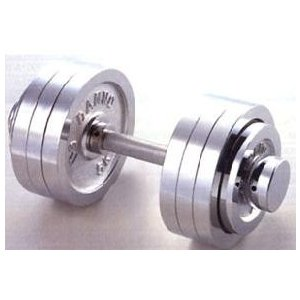 売れ筋商品 (クロムダンベル) DANNO 固定式ダンベル15kgセット(片手のみ), PROHANDS ショップ 290e7511
