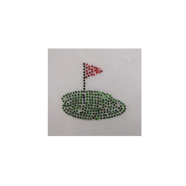Shareki マスクアクセサリー マスクホットフィックス キラキラ ラインストーン おしゃれマスク アイロン付着 ホットフィックスシート ゴルファー hf-golf shareki-golf