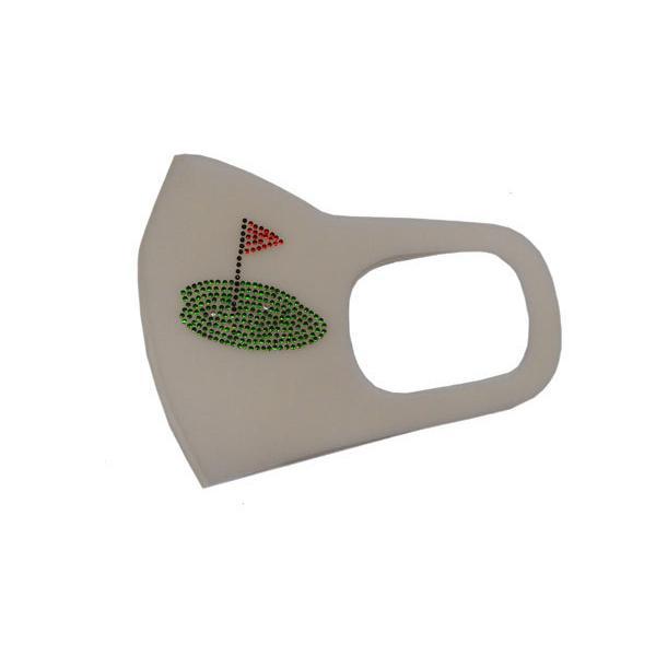 Shareki マスクアクセサリー マスクホットフィックス キラキラ ラインストーン おしゃれマスク アイロン付着 ホットフィックスシート ゴルファー hf-golf shareki-golf 05