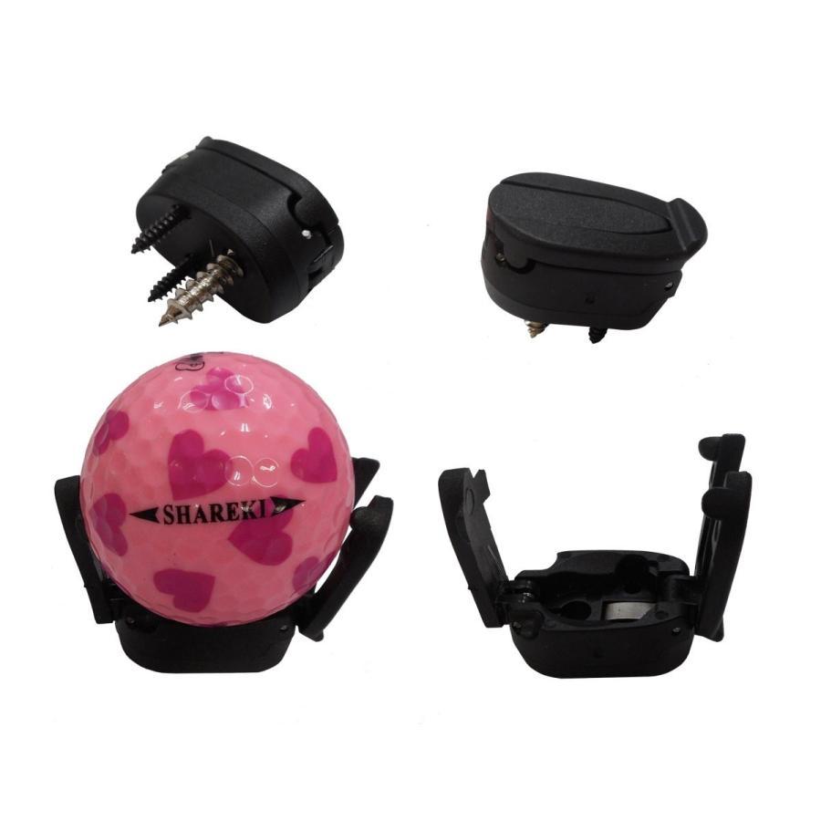 ゴルフボール ラインマーカー ボールラインマーカー 6カラー  + ゴルフボール ピックアップ ハートティー(5本)付き shareki-golf 18