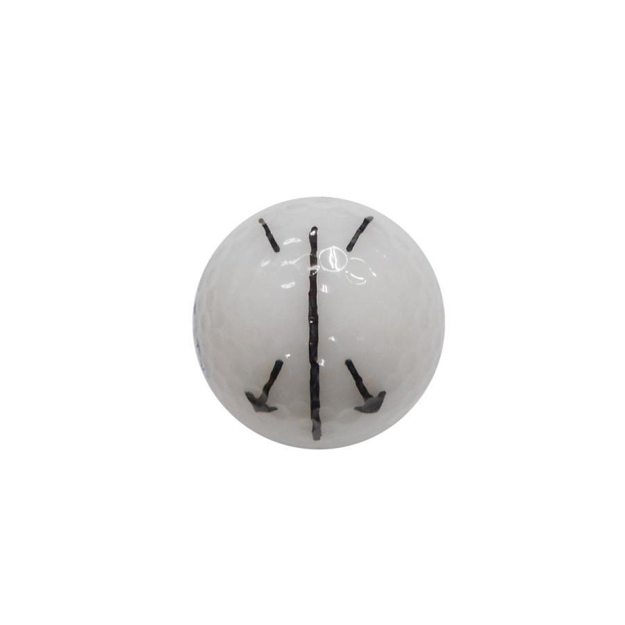 ゴルフボール ラインマーカー ボールラインマーカー 6カラー  + ゴルフボール ピックアップ ハートティー(5本)付き shareki-golf 21