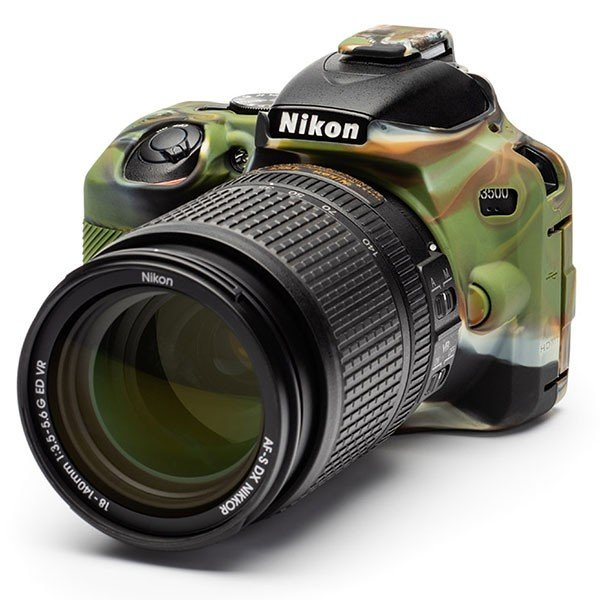 【メール便 送料無料】ジャパンホビーツール D3500-CA イージーカバー Nikon D3500用 カモフラージュ|shasinyasan|02