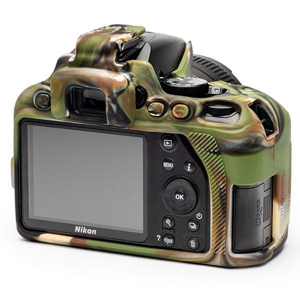 【メール便 送料無料】ジャパンホビーツール D3500-CA イージーカバー Nikon D3500用 カモフラージュ|shasinyasan|03