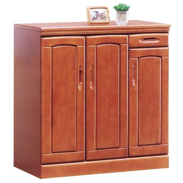 ローシューズボックス(下駄箱) 幅90cm×奥行40cm×高さ90cm 木製 棚板付き 日本製 ブラウン 〔Horizon3〕ホライゾン3 〔完成品〕〔代引不可〕