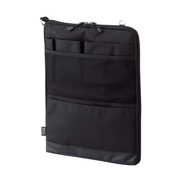 【史上最も激安】 (まとめ) リヒトラブ SMART FITACTACT バッグインバッグ (タテ型) A4 ブラック A-7683-24 1個 〔×10セット〕, あとひき小町のお店 37a995dc
