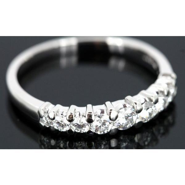 田崎真珠 TASAKI ダイヤモンド 0.34ctエタニティー リング Pt900 9号|shelly-jewelers|03