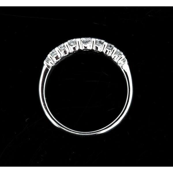田崎真珠 TASAKI ダイヤモンド 0.34ctエタニティー リング Pt900 9号|shelly-jewelers|06