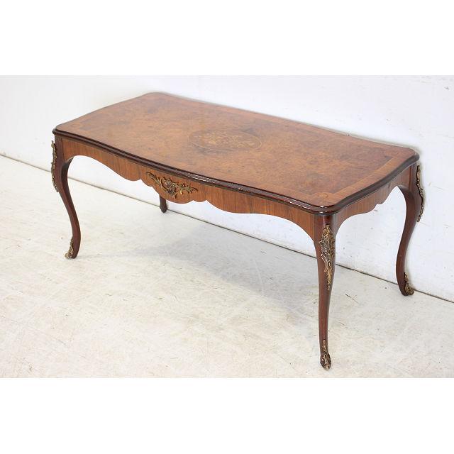 アンティーク センターテーブル イギリス 英国 家具 レトロ ブラウン