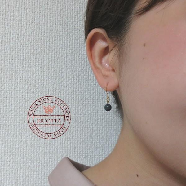ピアス レディース シンプル ラピスラズリのシンプル一粒ピアス 日本製 30代 40代 50代 アクセサリー shi-zu-ku 02