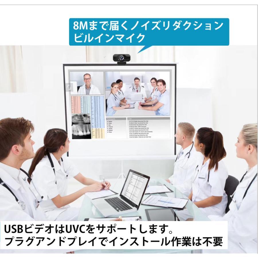 webカメラ フルHD マイク内蔵 1080p 三脚付 USB-C変換 レンズキャップ 広角 高画質 電話会議 shianabo-store 06