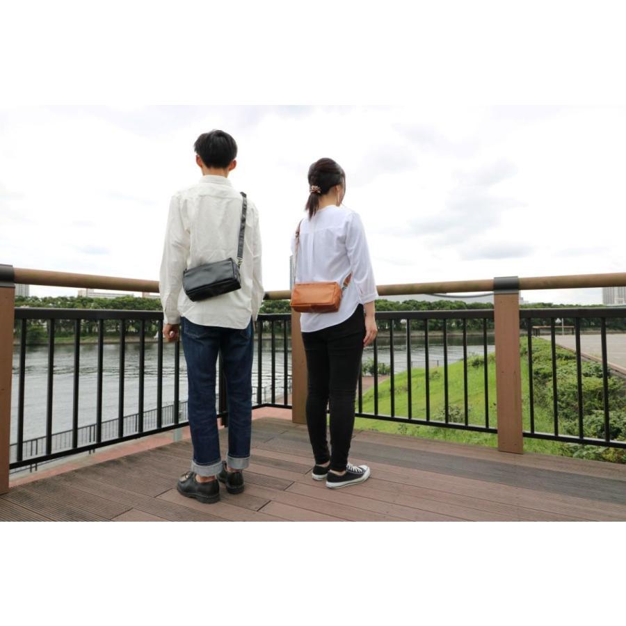 コンパクトショルダーバッグ 革 レディースメンズ クラシコ2 305112|shibuya-kabankoubou|15
