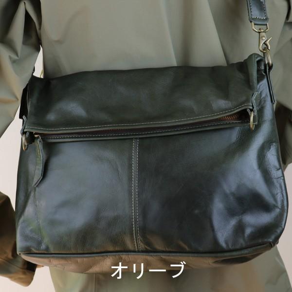 ショルダーバッグ 革 レディース メンズ 2Way クラシコ2 305123 shibuya-kabankoubou 07